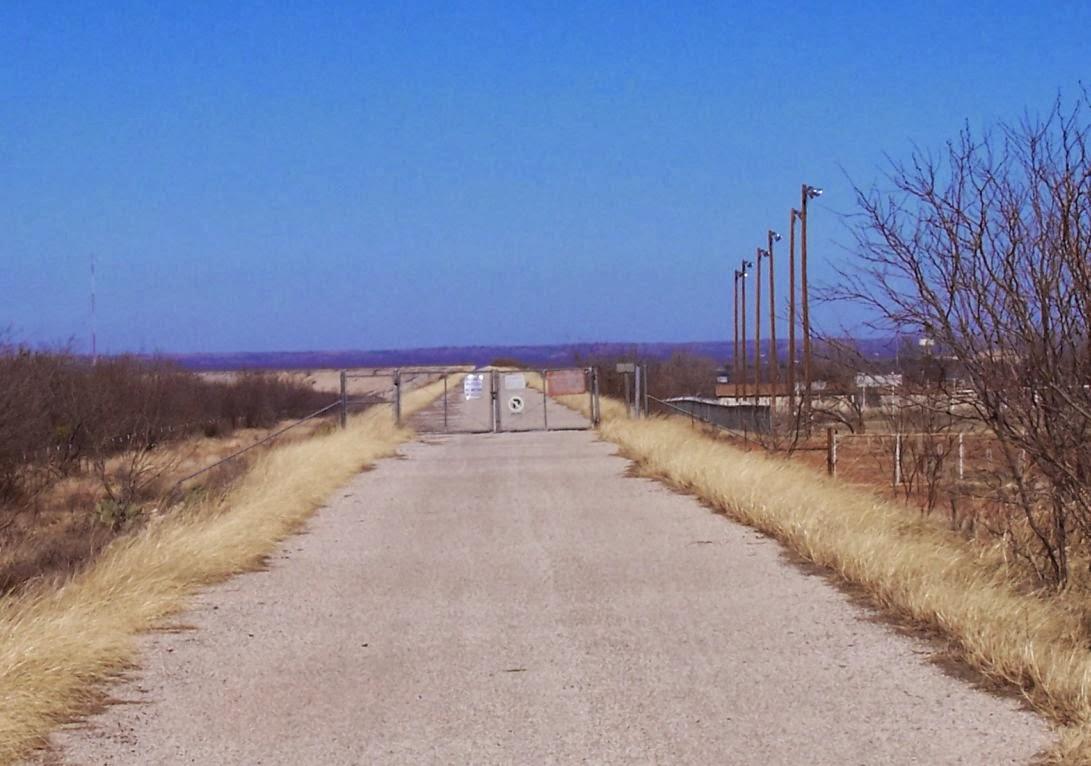 Happy Trails: Hike Report: O. C. Fisher Lake Dam