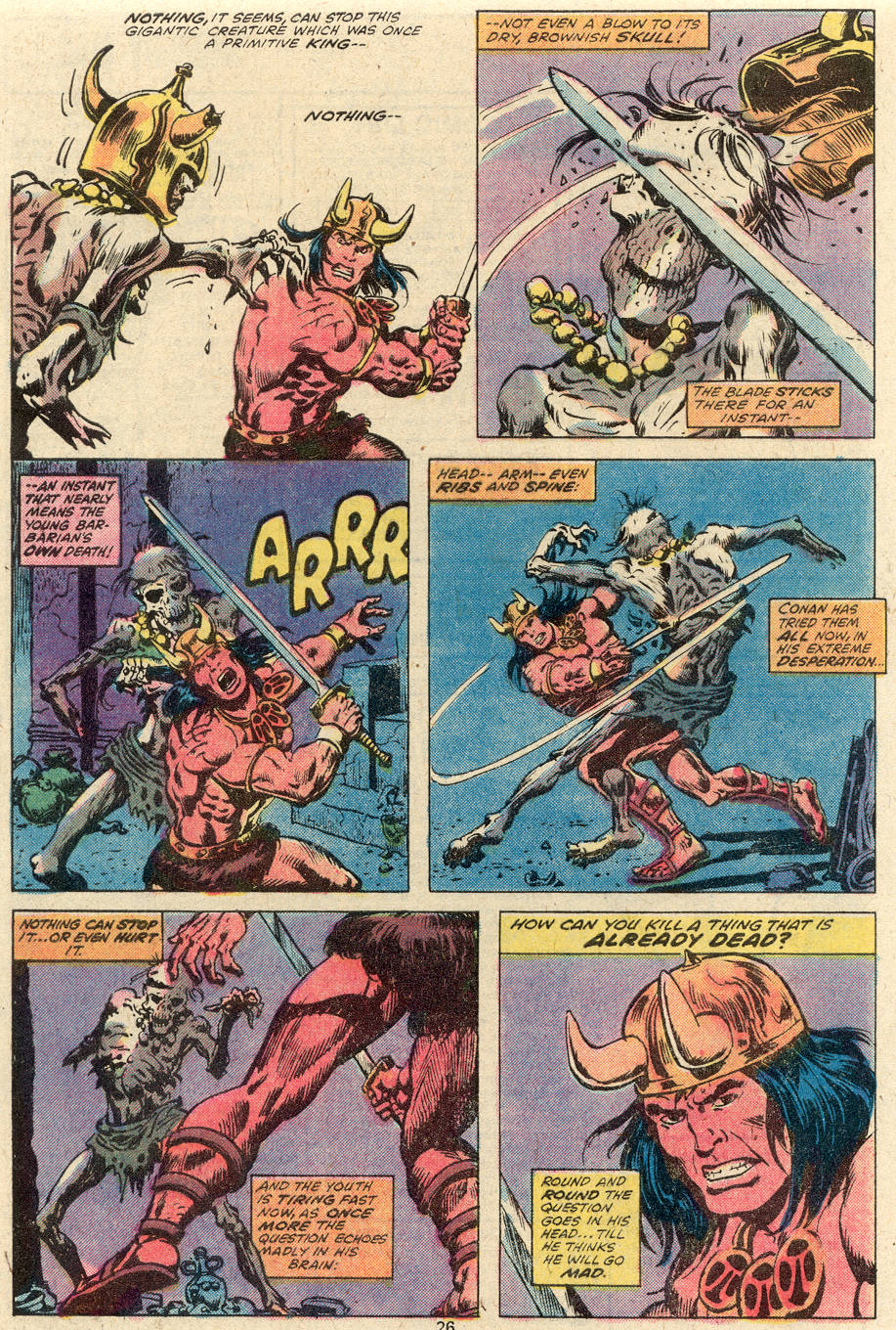 Conan the Barbarian (1970) Issue #92 #104 - English 15