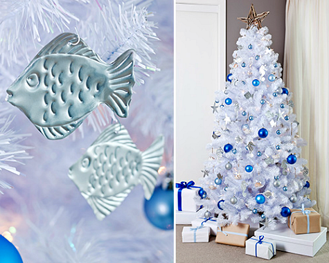 handmade aluminum embossed Christmas ornaments