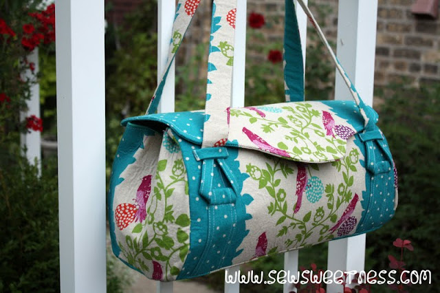 Blossom Bag from Sew Sweetness