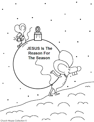 Free Printable Christmas Coloring Pages Church