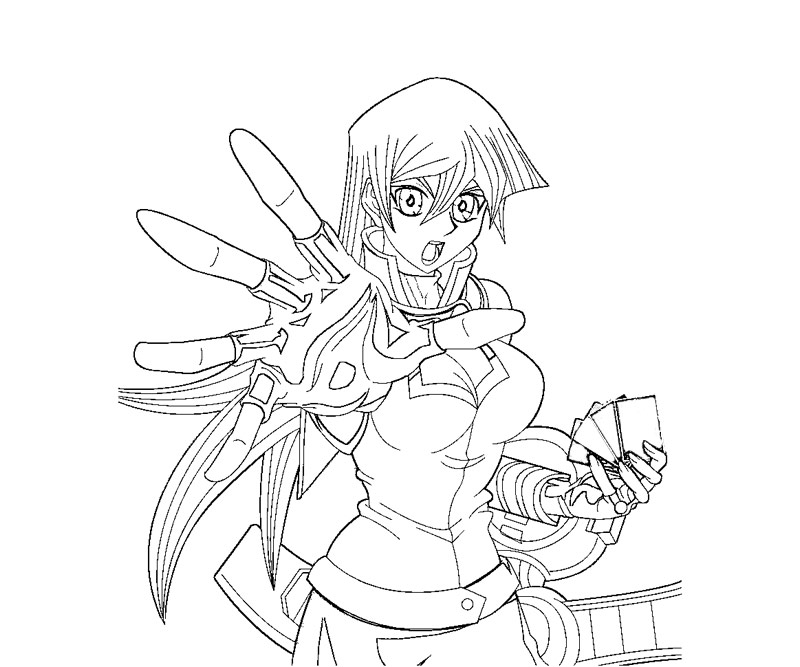 yugioh gx coloring pages - photo#8