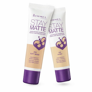 Rimmel London Stay Matte Liquid Mousse Foundation