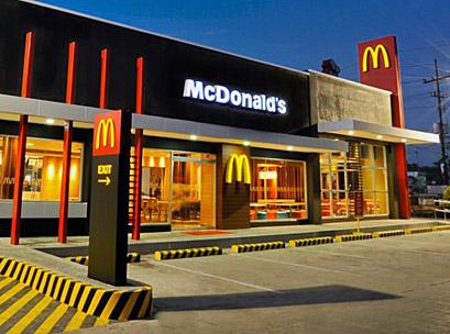 Revolusi Ilmiah - McDonald salah satu restoran makanan cepat saji terkemuka