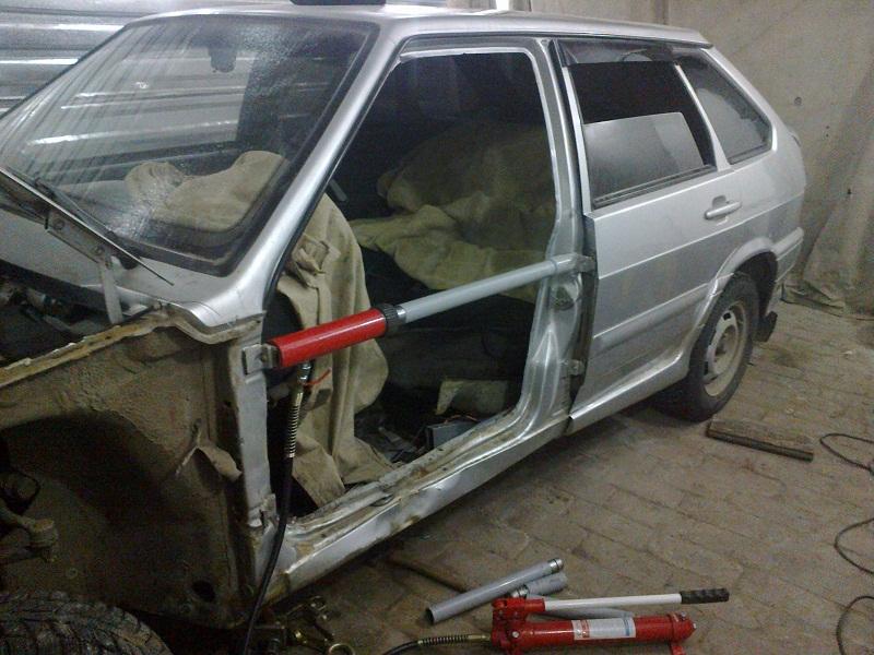 Кузовной ремонт своими руками ваз 2114