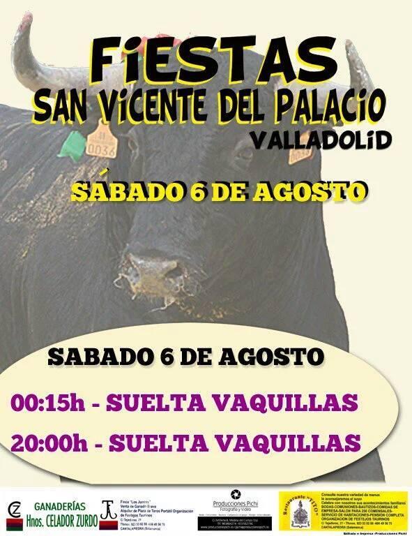 San vicente del palacio fiestas agosto 2016 valladolid fecartoros pasi n - San vicente del palacio ...