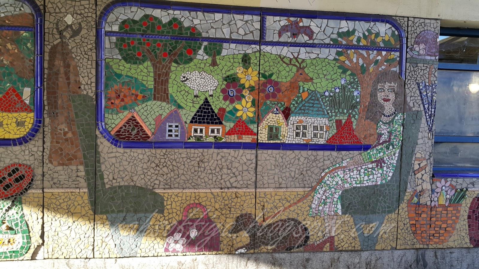 Cerita kembara kami out of order jom jalan london for Mural yang cantik
