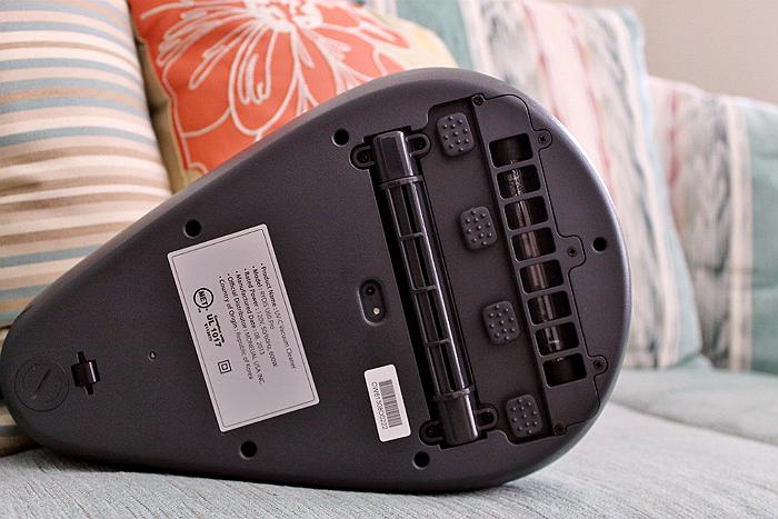 Moneual Rydis U60 Pro Handheld Vacuum- 2012 Red Dot Design Award Winner 3600 RPM Vibration Pads
