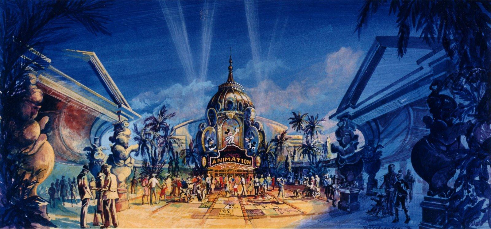 Sasaki Time: Disney Concept Art: Early Animation Building ...