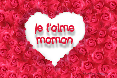 Sms d'amour je t'aime maman