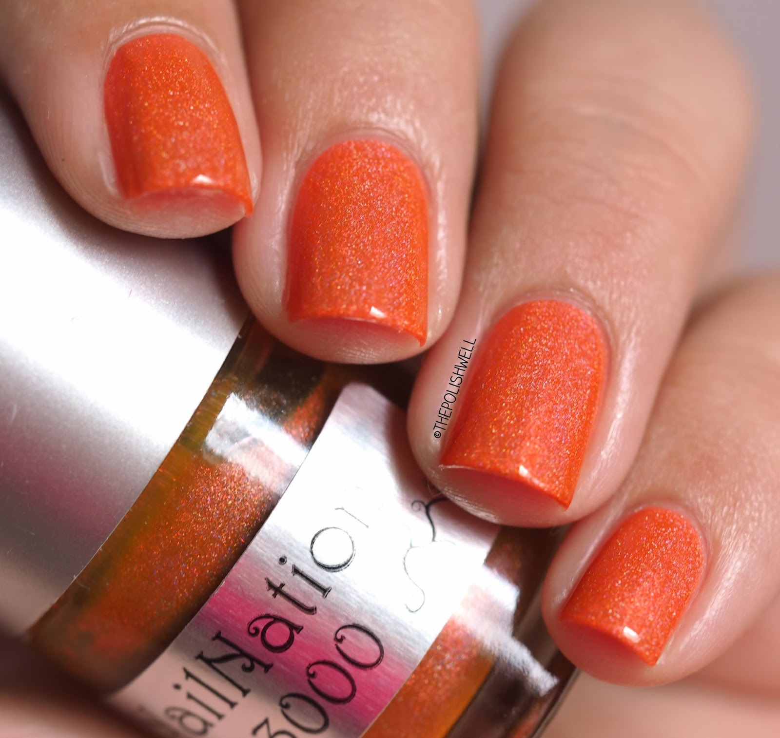 The Polish Well: NailNation 3000: Glow Worm & Awesome Sauce