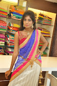 Mounika Reddy Glam pics in Half saree-thumbnail-19