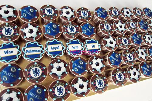 Birthday Cupcake Edible Image Chelsea  Ai-sha Puchong Jaya