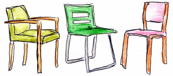 Stuhl gezeichnet  Alessas Blog: [design] Stühle
