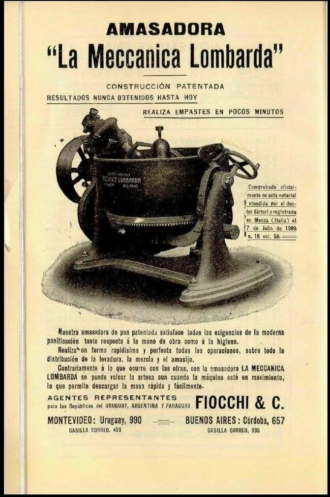 Amasadora La Meccanica Lombarda ( Fiocchi & C.)