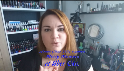 video, vidéo, YouTube, clear jelly stamper, messy mansion, stamps, plaques, stamping, stamping inversé, über chic beauty, ubermat,