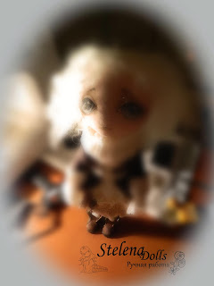 процесс изготовления авторской текстильной куклы