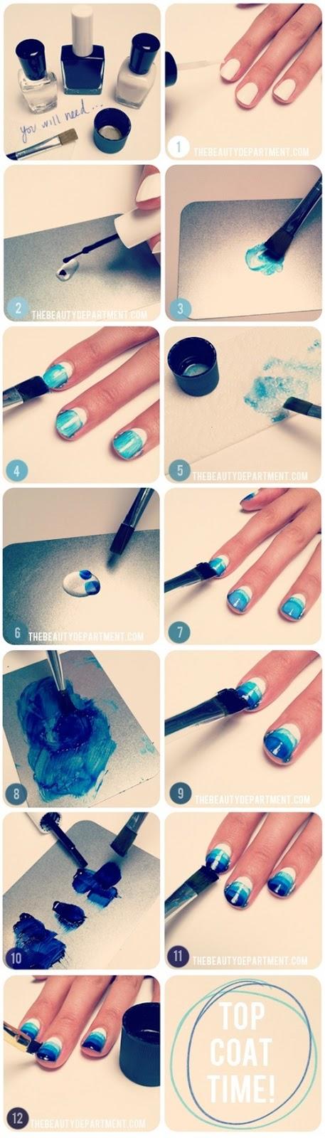 Как сделать самому простой маникюр