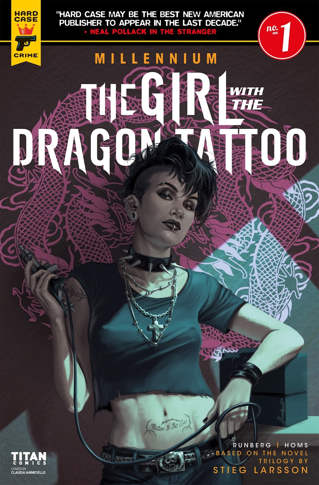 Millennium: The Girl With the Dragon Tattoo issue 1 - Page 1