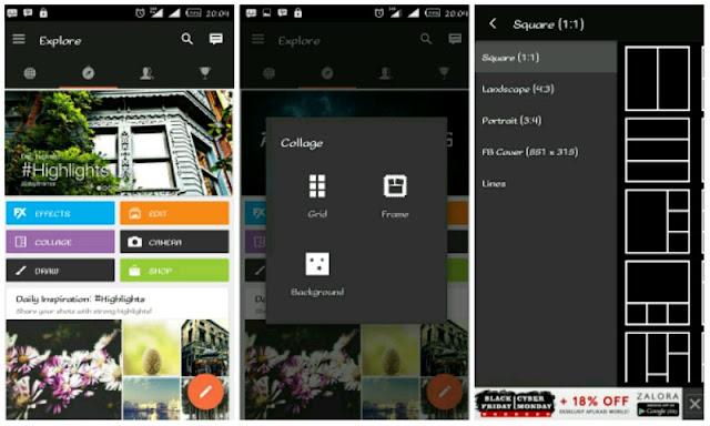 Membuat Foto Kolase di Android dengan PicsAr