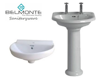 Belmonte Basins in Different Colours and Sizes - Pumpkart.com