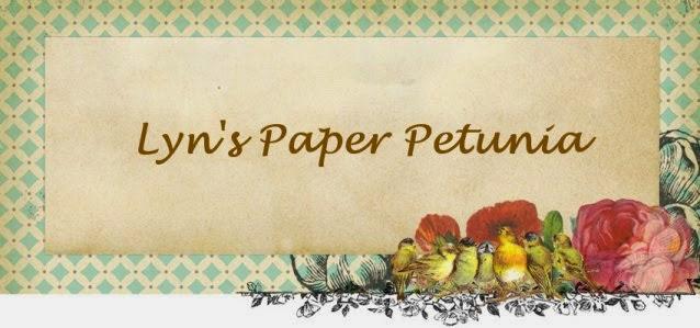 Lyn's Paper Petunia