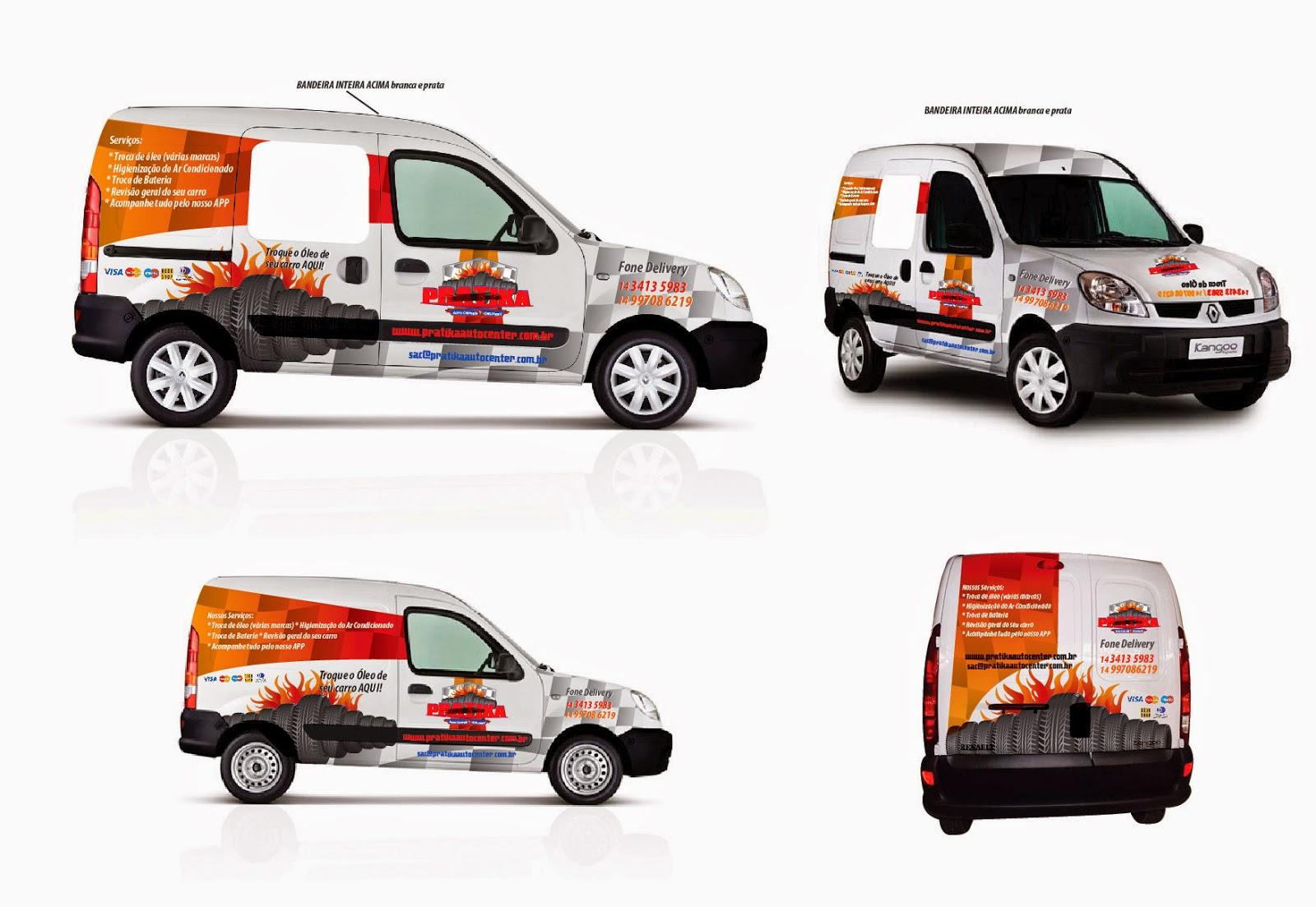 ambrasil designer projeto branding pratika auto center delivery mar lia sp. Black Bedroom Furniture Sets. Home Design Ideas
