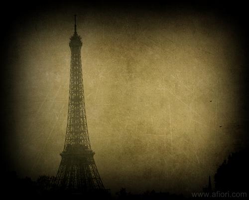 Eiffeltornet Eiffel tower konstfoto art photography Maria-Thérèse Andersson Afiori www.afiori.com Paris
