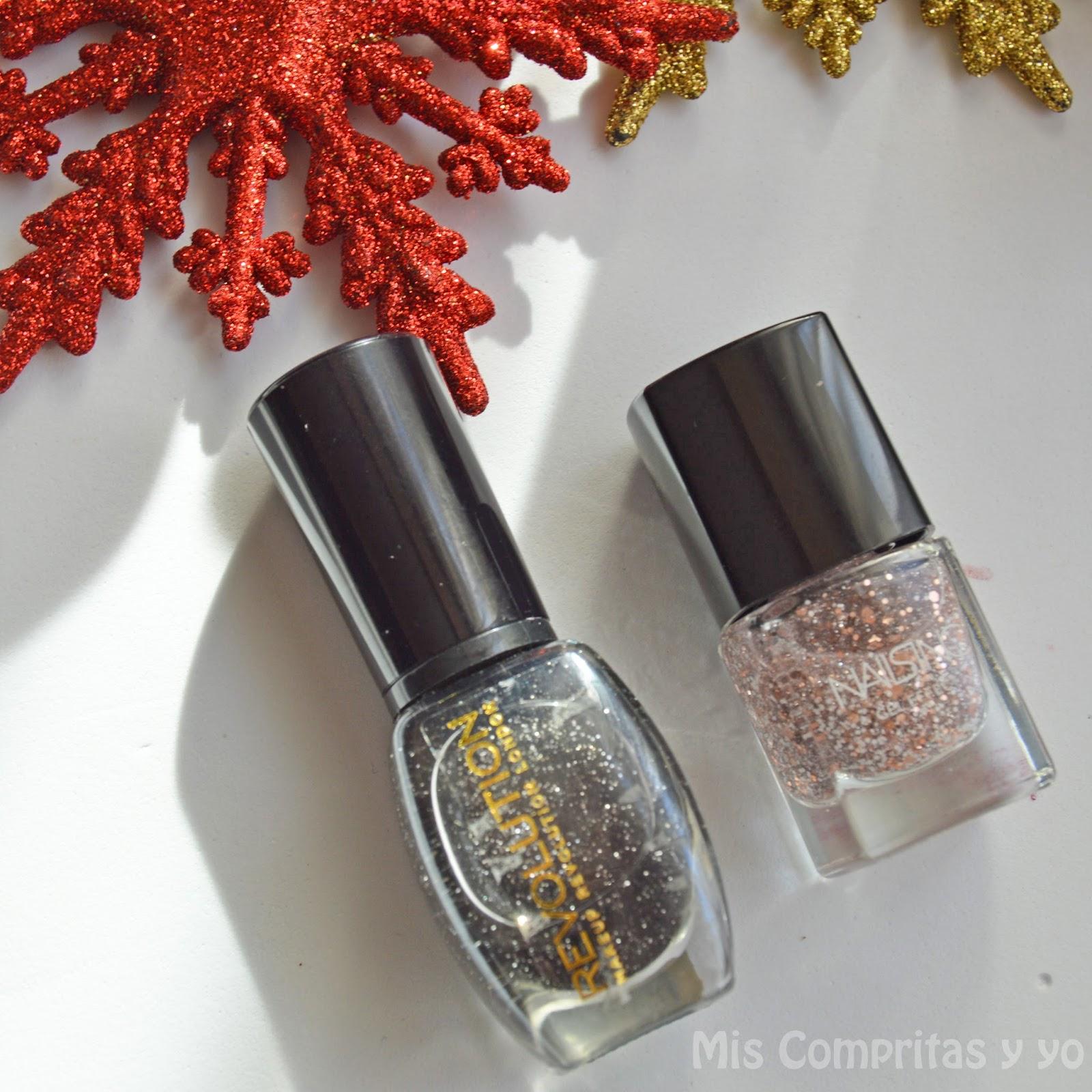 Sra Cristina B: BLOGMAS Día 8!! Esmaltes de Uñas para Navidad