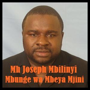 Mbunge wa Mbeya Mjini