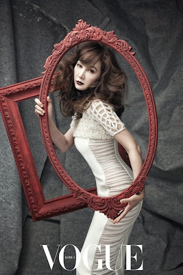 Chae Si Ra - Vogue Magazine April Issue 2015