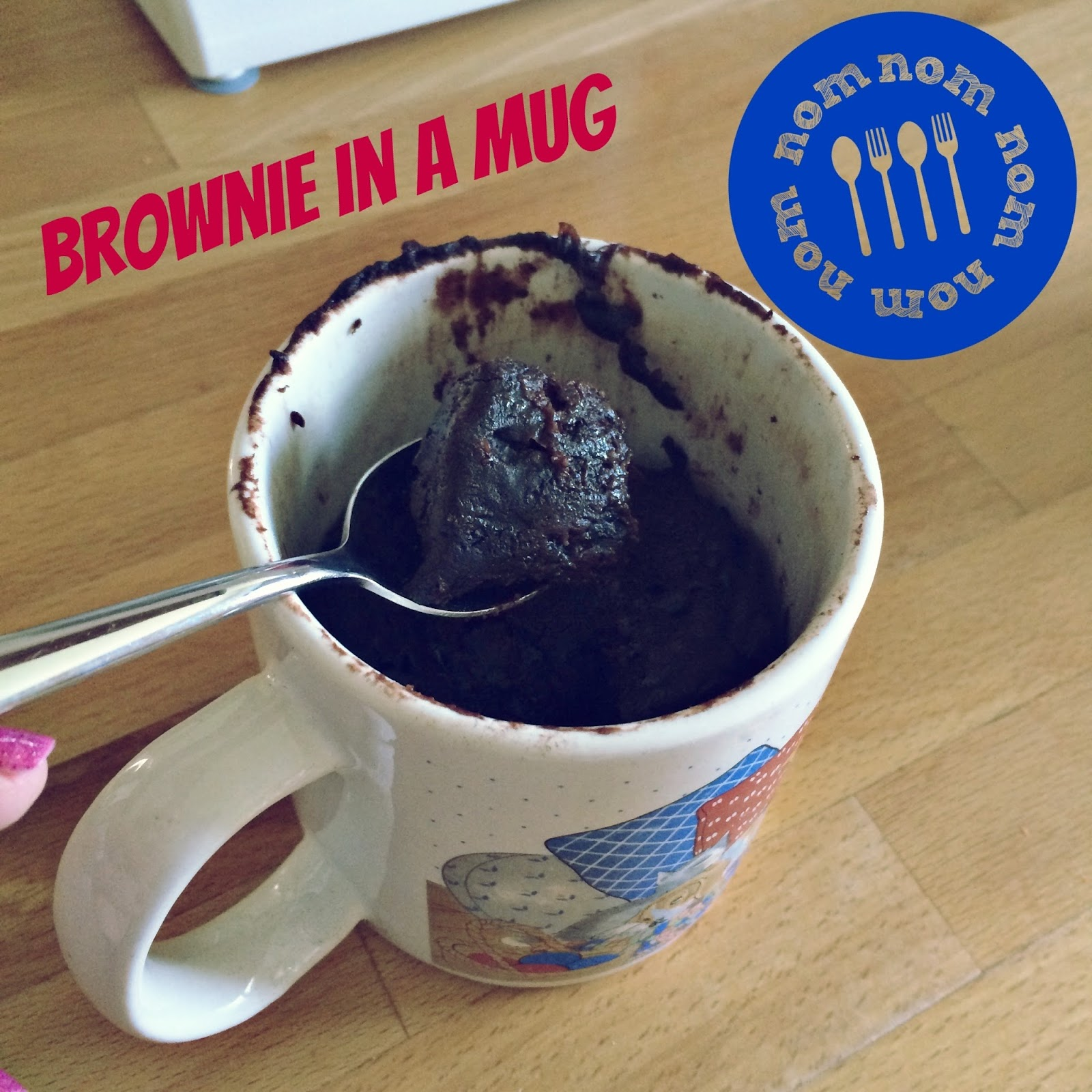 mug brownie recipe