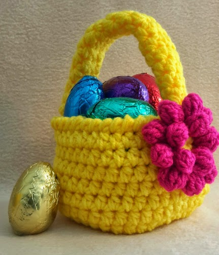 Free Pattern Crochet Easter Basket : Happy Heart Fiber Art : NEW! FREE Pattern Friday!