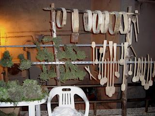 Utensili in legno del Matese