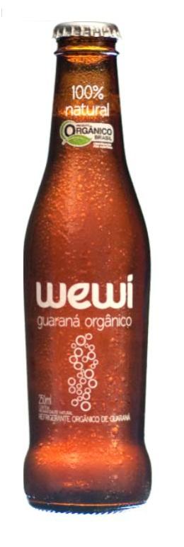 Refrigerante orgânico: guaraná Wewi