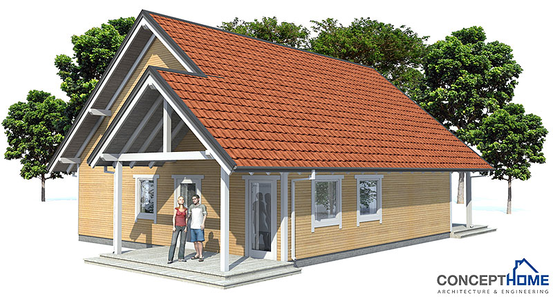 Affordable Home Plans Economical House Plan Ch45