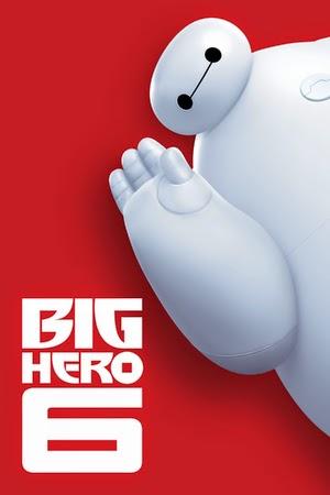 Poster Big Hero 6 2014