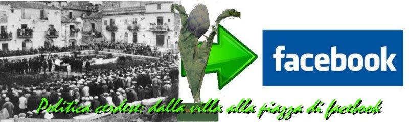 politica cerdese : dalla villa alla piazza di fb