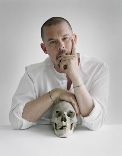 Alexander Mcqueen Skull Background
