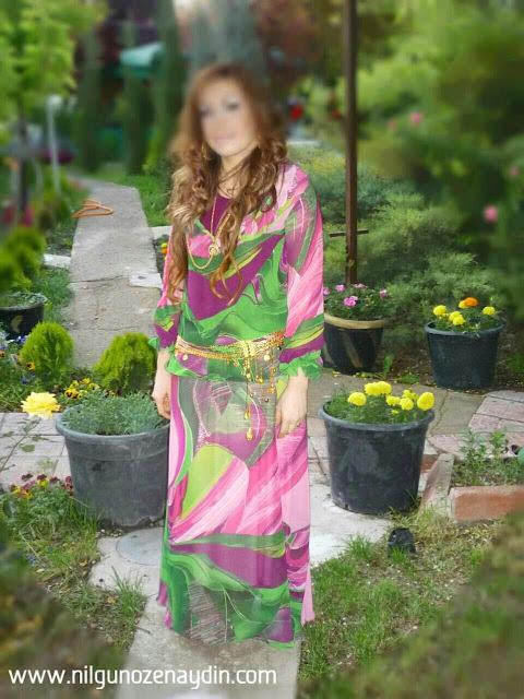 nilgunozenaydin.com-fırfırlı elbise-fırfırlı elbise dikimi-abiye modelleri-şifon abiyeler-tesettür için abiye-chiffon nightdresses