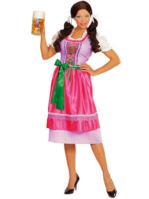 Tyroler kjole kvinde