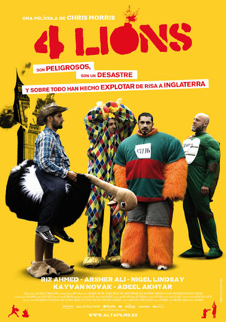 Cartel de cine Four Lions