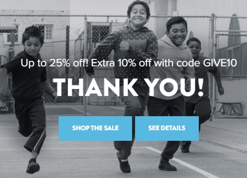TOMS Black Friday Weekend Up to 25% off + Extra 10% off Promo Code