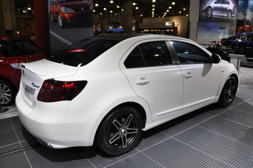 Suzuki Kizashi Ecocharge Car Top Of Design Trend