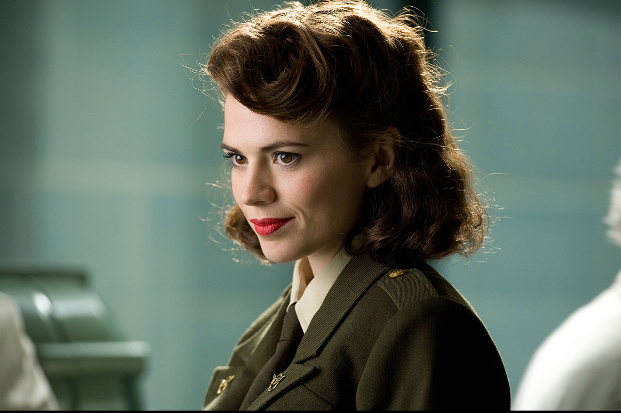 Hayley Atwell as Peggy in Captain America  The First AvengerHayley Atwell Peggy Carter