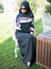 Model baju gamis elegan terbaru trendy dan modern