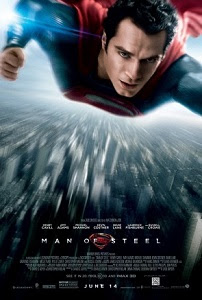 Poster original de El hombre de acero