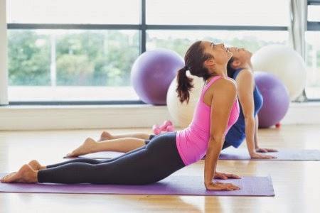 El yoga, ejercicio de relajación