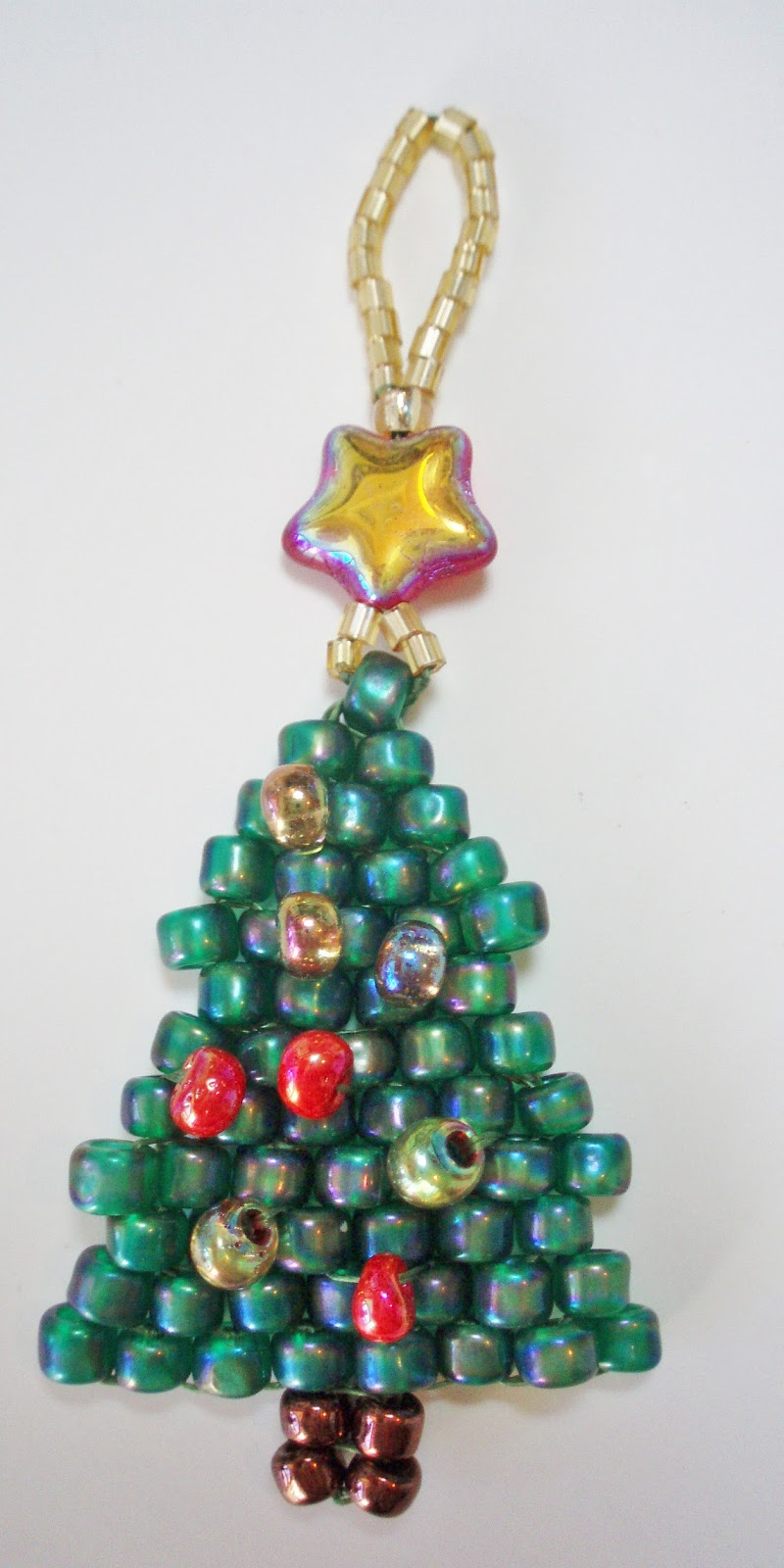 Beaded Christmas Tree Decorations To Make | Search Results | CLARA ...
