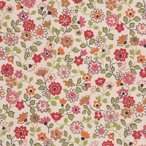Dreams And Wishes: Vintage Floral Wallpapers In Kid's Rooms